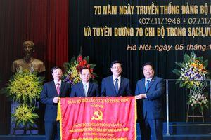Đảng bộ Bộ GTVT kỷ niệm 70 năm ngày truyền thống