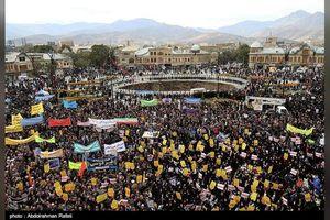 Biển người Iran giận dữ, xuống đường biểu tình phản đối Mỹ