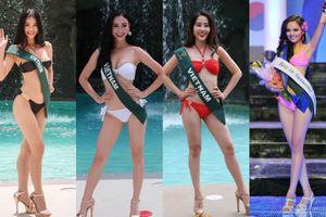 Đây là Tứ đại mỹ nhân nóng bỏng của Việt Nam từng 'làm mưa làm gió' tại đấu trường Miss Earth