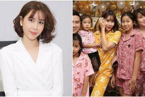 Lưu Hương Giang đón sinh nhật bên bạn bè và người thân cùng trang phục 'đồ ngủ' ngộ nghĩnh đầy màu sắc