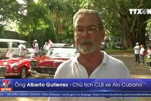 Lễ hội diễu hành xe cổ ở thủ đô La Habana (Cuba)