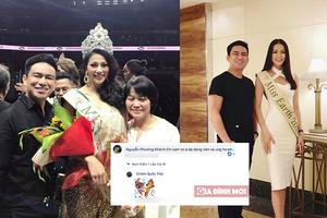 Sự xuất hiện gây tranh cãi của bác sĩ Chiêm Quốc Thái bên cạnh Hoa hậu Phương Khánh