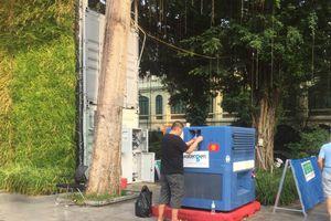 Người dân Hà Nội thích thú với máy lọc nước từ không khí