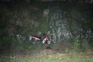 Xe máy mất lái lao xuống mương nước, 1 người tử vong tại chỗ
