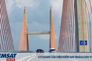 Bộ Giao thông vận tải: Yêu cầu kiểm tra cầu Bạch Đằng sau tin mới thông xe đã lún