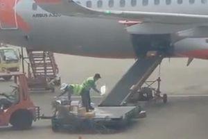 Không tuân thủ quy định mà ném hành lý của khách lên máy bay, hai nhân viên bị sa thải