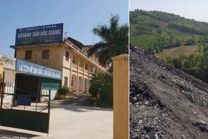 Vi phạm chất cao như 'núi' tại mỏ than Bố Hạ của Công ty Cổ phần khoáng sản Bắc Giang