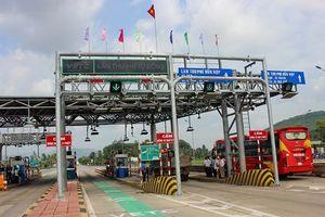 21h đêm nay Trạm BOT Bắc Bình Định thu phí trở lại