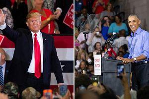 Trump và Obama công kích nhau gay gắt trong các cuộc vận động nước rút