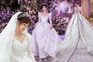 Đường Yên – La Tấn: Từ gu thời trang ăn ý, lãng mạn tới chiếc váy cưới vạn người mê