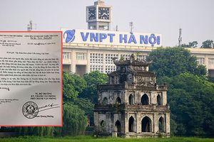 Bộ TT&TT yêu cầu khôi phục dòng chữ 'Bưu điện Hà Nội'