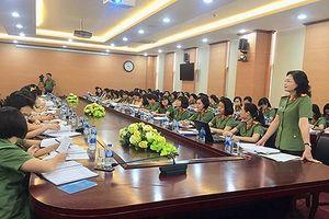 Tập huấn kiện toàn tổ chức Hội Phụ nữ các cấp CATP