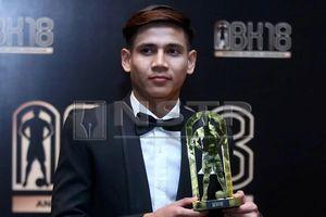 Ngôi sao Malaysia giành cú đúp danh hiệu, VN phải dè chừng