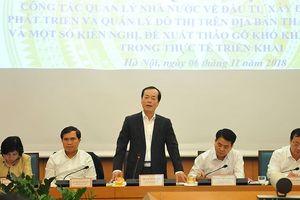 Hà Nội kêu khó với Bộ Xây dựng về cải tạo chung cư cũ