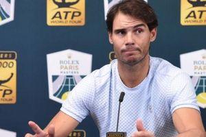 Nadal rút lui khỏi ATP Finals vì chấn thương, Djokovic chắc ngôi số 1