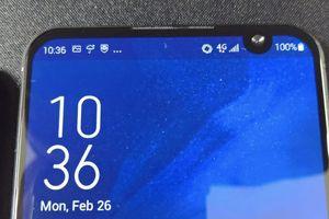 Zenfone 6 màn hình 'nốt ruồi' lộ diện