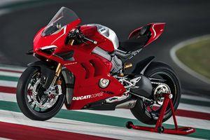 Panigale V4 R - siêu môtô mạnh nhất của Ducati sở hữu cánh gió