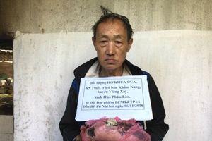 Tóm gọn đối tượng vận chuyển một lượng lớn ma túy từ Lào vào Việt Nam