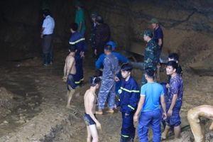 Vụ sập hầm vàng ở Hòa Bình: Không còn hy vọng sống sót