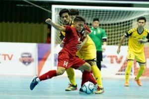 Tuyển futsal Việt Nam khởi đầu suôn sẻ tại Giải Đông - Nam Á