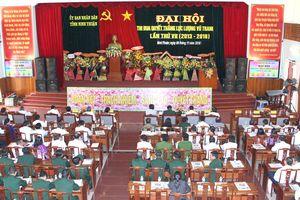 Đại hội Thi đua Quyết thắng LLVT tỉnh Ninh Thuận giai đoạn 2013-2018