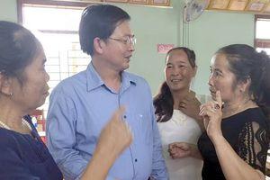 Lãnh đạo tỉnh Bình Định đối thoại với người dân về dự án điện mặt trời