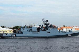 Nga triển khai tàu chiến mang tên lửa hành trình mới đến sát Syria