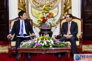 Nhật Bản coi trọng, mong muốn thúc đẩy hợp tác thực chất với Việt Nam
