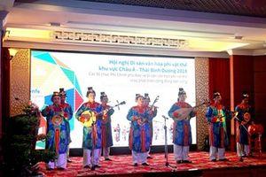 Khai mạc Hội nghị Di sản Văn hóa Phi vật thể Châu Á - Thái Bình Dương năm 2018