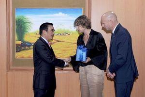 Hà Lan sẵn sàng hỗ trợ thực hiện cơ chế tài chính đối với Đồng bằng sông Cửu Long