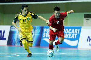 Tuyển futsal Việt Nam thắng Brunei 9-0 trận mở màn AFF 2018