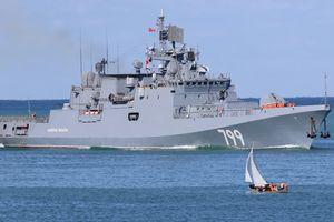 Nga đưa thêm tàu hộ vệ mang theo tên lửa hành trình đến ngoài khơi Syria