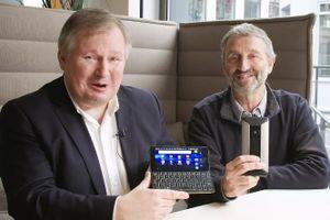 'Máy tính xách tay' Android kích thước nhỏ bằng điện thoại