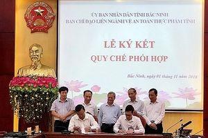 Bắc Ninh: Ký kết chương trình phối hợp vận động và giám sát đảm bảo ATTP giai đoạn 2018 – 2020