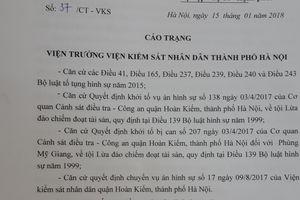 Vụ lừa đảo chiếm đoạt xảy ra ở quận Hoàn Kiếm, Hà Nội: Còn 'lọt' tội?