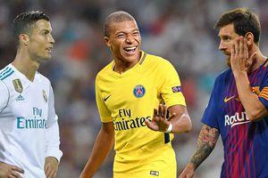 Vượt C.Ronaldo, Messi, Mbappe là cầu thủ đắt giá nhất thế giới!