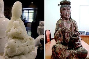 Chuyện 2 bức tượng Quan Âm tống tử quý hiếm
