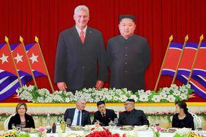 Toàn cảnh Bình Nhưỡng long trọng đón Chủ tịch Cuba thăm Triều Tiên