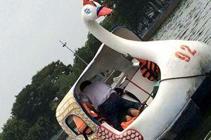 Học sinh diễn 'cảnh nóng' trên thuyền đạp vịt ở Hải Dương gây xôn xao