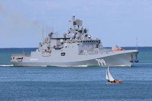 Vì sao Nga triển khai tàu khu trục mang tên lửa tầm xa tới gần Syria?