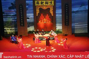 Liên hoan Ca trù toàn quốc năm 2018 tại Hà Tĩnh thành công tốt đẹp