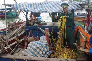 Nghệ An: Bắt giữ 13 thuyền đánh cá dùng kích điện đánh bắt hải sản