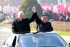 Kyodo: Lãnh đạo Triều Tiên, Cuba thảo luận vấn đề hạt nhân