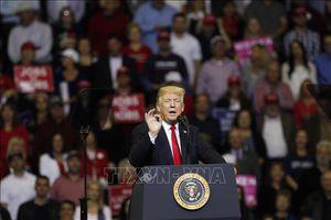 Bầu cử giữa nhiệm kỳ, Tổng thống D.Trump dồn lực cho những chặng đua cuối