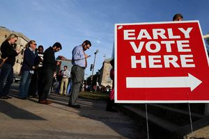 Trên 35 triệu cử tri Mỹ đã đi bỏ phiếu sớm, lập kỷ lục mới của bầu cử giữa kỳ