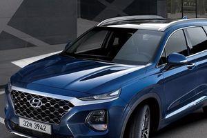 Hyundai SantaFe 2019 xuất hiện tại đại lý trước ngày ra mắt