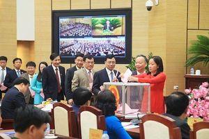Sẽ lấy phiếu tín nhiệm 37 lãnh đạo chủ chốt TP. Hà Nội