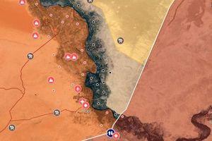 Cập nhật bản đồ chiến sự ở Deir Ezzor - Syria