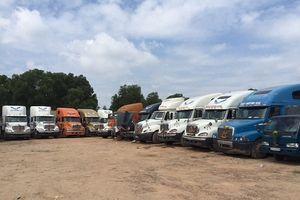 Không có bãi đậu, 1.000 xe container ở TP.HCM chưa biết đi đâu