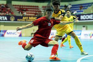 Futsal Việt Nam thắng 9 bàn, vẫn xếp sau Thái Lan tại AFF Cup